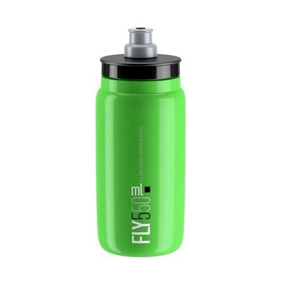 BIDON ELITE FLY VERDE LOGO NEGRO 550 ml