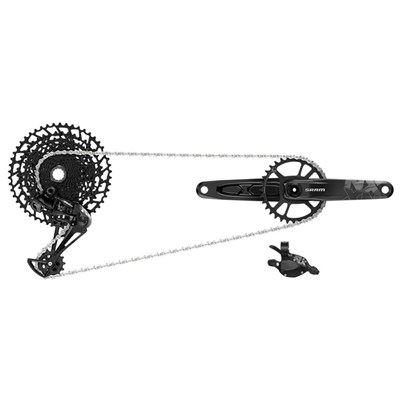GRUPO SRAM NX EAGLE DUB 175 mm 12V.32D (CAMBIO, MANDO TRIGGER, BIELAS DUB, CADENA, CASSETTE 11-50)