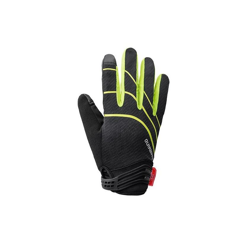 GUANTES LARGOS SHIMANO WINDSTOPPER INSULATED AMARILLO