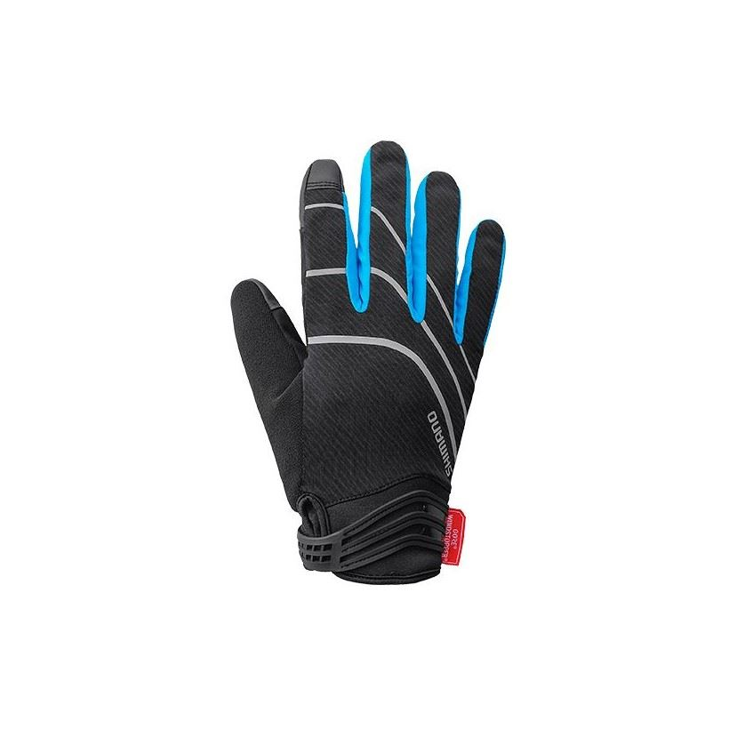 GUANTES LARGOS SHIMANO WINDSTOPPER INSULATED AZUL
