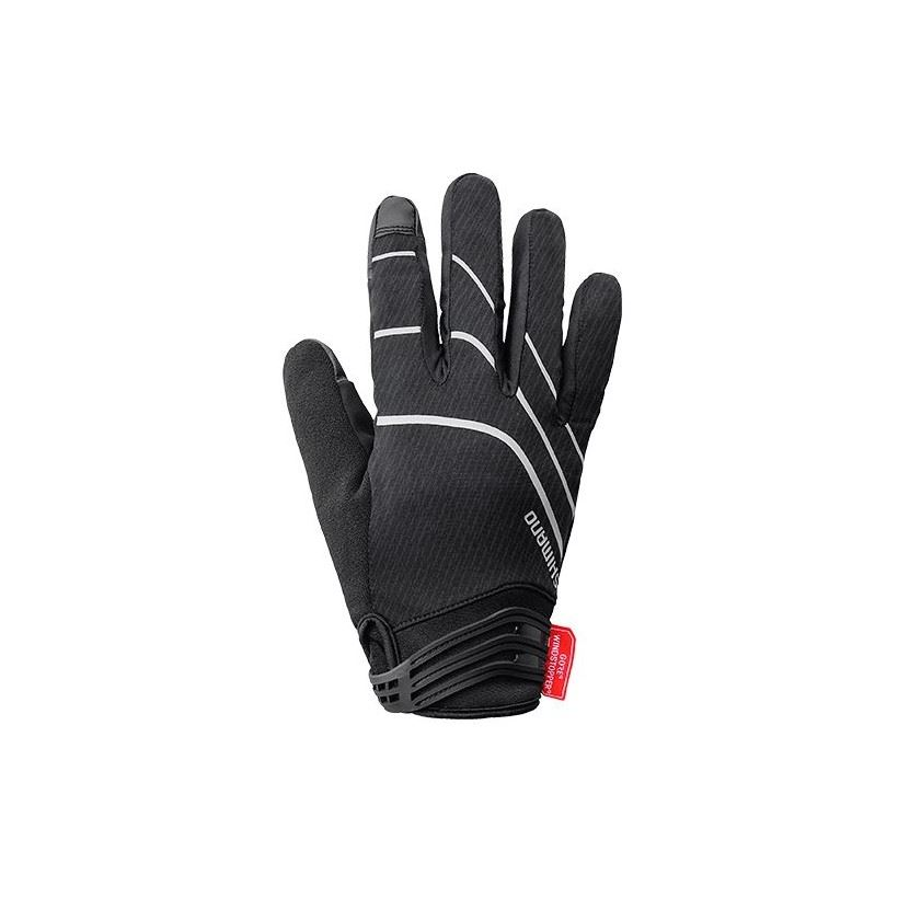 GUANTES LARGOS SHIMANO WINDSTOPPER INSULATED NEGRO