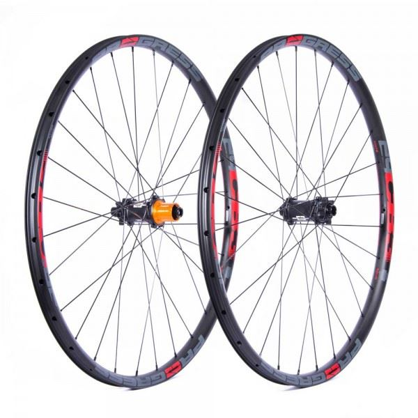 Ruedas Progress JGO CB3 Plus 29 15x110 Y 12x148 Boost Shimano Rojo