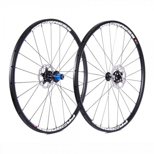 Ruedas Progress JGO Phantom CX Disc 12/9x100 Y 9x135 Shimano Blanca Tubular