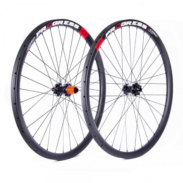 Ruedas Progress JGO X-Carbon 29 Tubular 15x110 Y 12x148 Boost Shimano