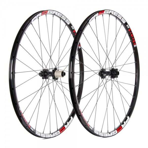 Ruedas Progress JGO XCD-1 29 15x110 Y 12x148 Boost Straight Pull Shimano