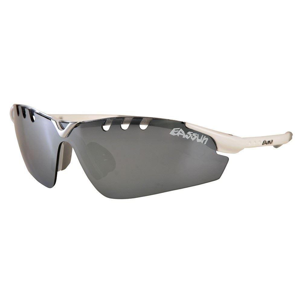 Gafas Eassun X-Light Sport blanco brillo con lente plata